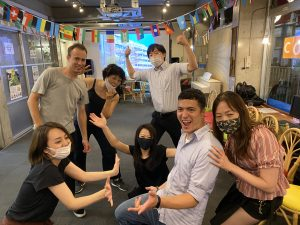 ・Salsa Lesson by Chriz from Argentina @ Sakura Hostel Asakusa | Taito City | Tōkyō-to | Japan